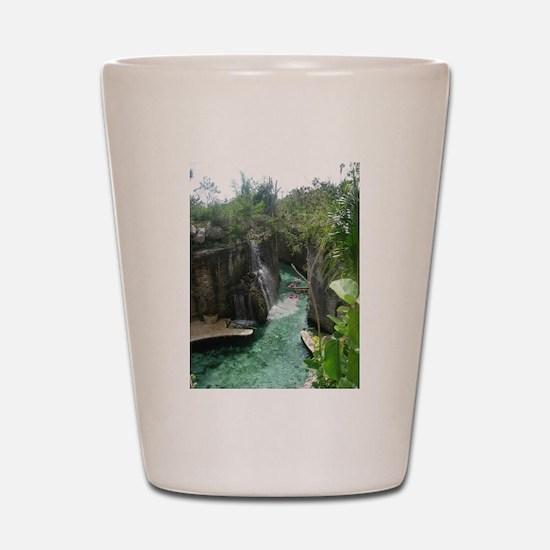 Underground Rivers Shot Glass