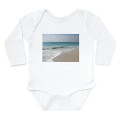 Paradise Long Sleeve Infant Bodysuit