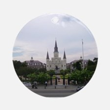 Saint Louis Cathedral Ornament (Round)