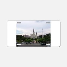 Saint Louis Cathedral Aluminum License Plate