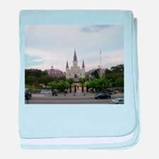 Saint Louis Cathedral baby blanket