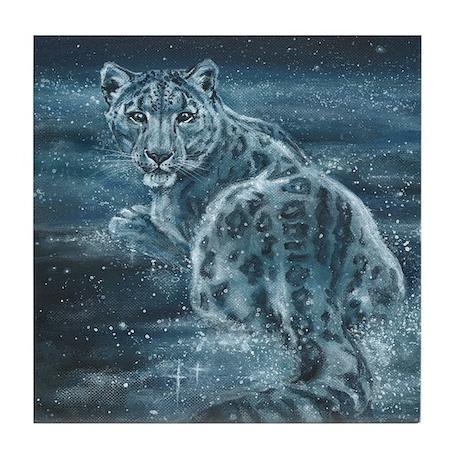 Star Leopard Tile Coaster