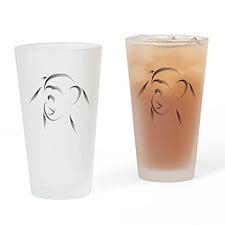 Chimp Pint Glass
