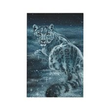 Star Leopard Rectangle Magnet (10 pack)