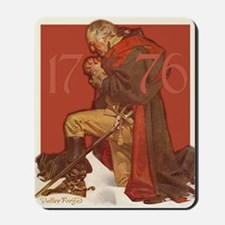 George Washington in Prayer Mousepad