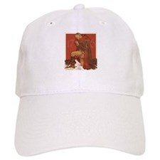 George Washington in Prayer Baseball Baseball Cap