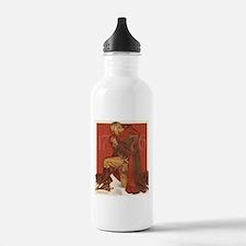 George Washington in Prayer Water Bottle