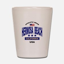 Shot glasses for Hermosa Beach California