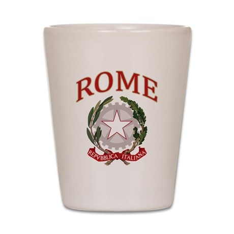 Rome Italy Shot Glass