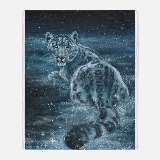 Star Leopard Throw Blanket