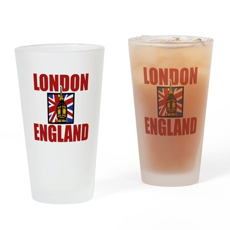 London Big Ben Pint Glass