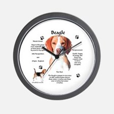 Beagle 1 Wall Clock