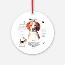 Beagle 1 Ornament (Round)