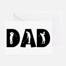 Golf Dad Greeting Cards (Pk of 10)