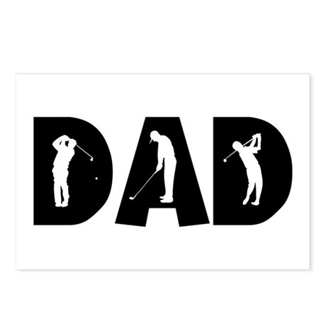 Golf Dad Postcards (Package of 8)