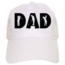 Golf Dad Baseball Cap