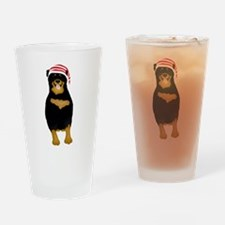 Rotty Drinking Glass