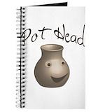 Pottery Journals & Spiral Notebooks