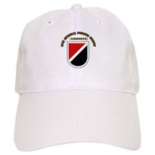 SOF - 6th SFG Flash with Text Baseball Cap