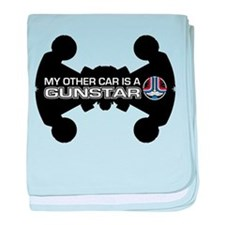 Other Car Is A Gunstar baby blanket