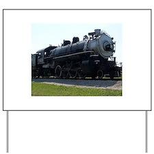 Steam Engine Yard Sign
