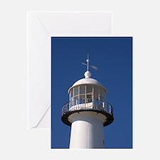 Biloxi Lighthouse Greeting Card