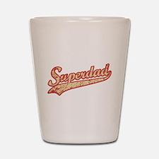 'Vintage' Super Dad Shot Glass