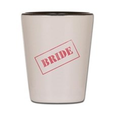 Bride Stamp Shot Glass