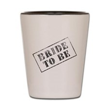 Bride To Be Stamp Shot Glass