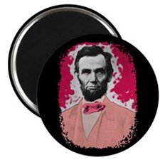 Pink Lincoln Magnet