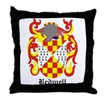 Bedwell Coat of Arms Throw Pillow
