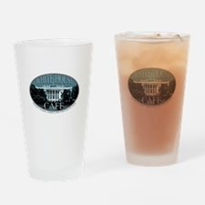 White House Cafe Pint Glass