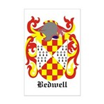 Bedwell Coat of Arms Mini Poster Print