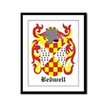 Bedwell Coat of Arms Framed Panel Print