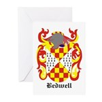 Bedwell Coat of Arms Greeting Cards (Pk of 10)