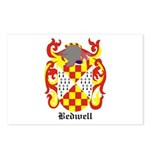 Bedwell Coat of Arms Postcards (Package of 8)