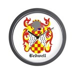 Bedwell Coat of Arms Wall Clock