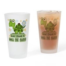 Turtle Slow Down Pint Glass