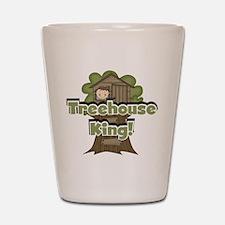 Treehouse King Shot Glass