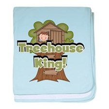 Treehouse King baby blanket