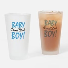 Baby Boy Proud Dad Pint Glass