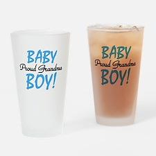 Baby Boy Proud Grandma Pint Glass