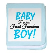 Baby Boy Great Grandma baby blanket