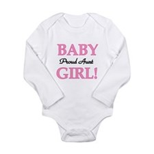 Baby Girl Proud Aunt Baby Outfits