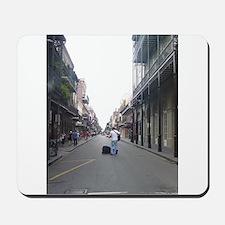 French Quarter Musician Mousepad