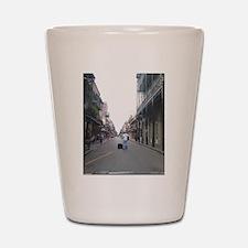 French Quarter Musician Shot Glass