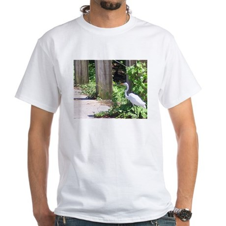 Egret White T-Shirt