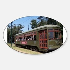 New Orleans Streetcar Sticker (Oval)