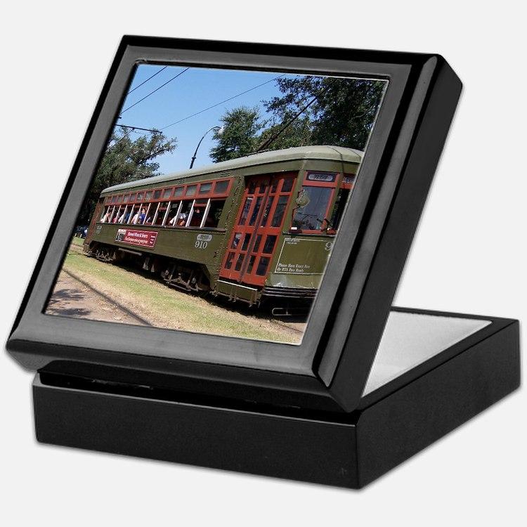 New Orleans Streetcar Keepsake Box