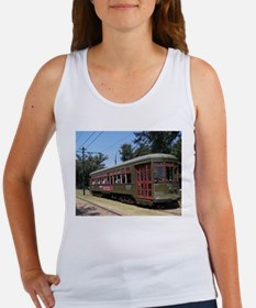 New Orleans Streetcar Women's Tank Top
